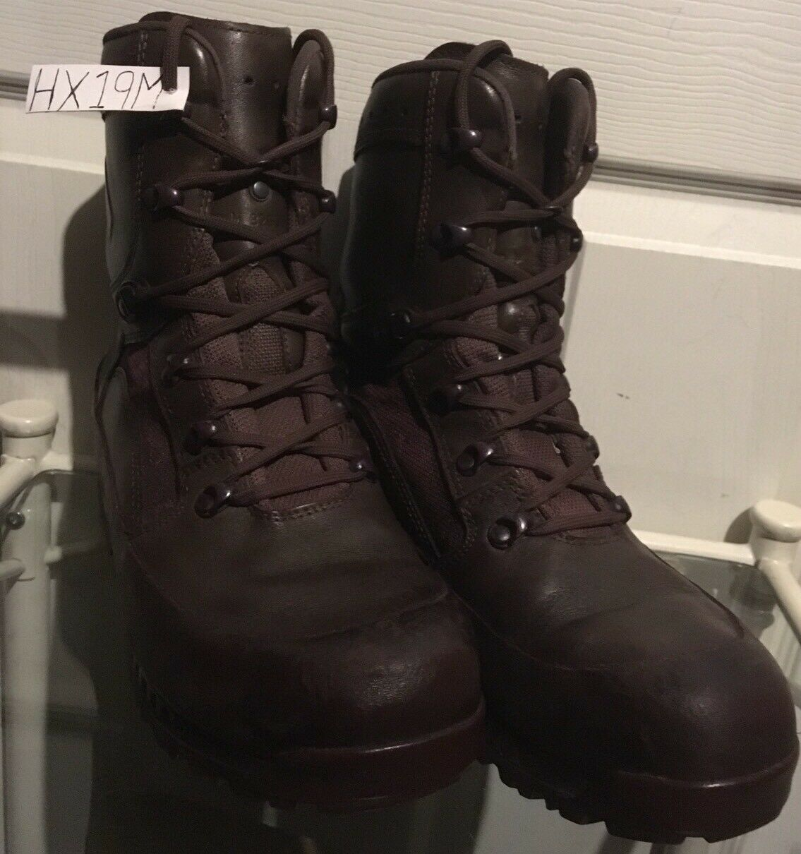 Haix Brown MTP Gore-Tex Waterproof Army Issue Combat Boots 9M HX19M