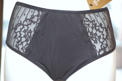 Black Chantelle 3284 Panties Rive Gauche with Shaping Efect Col
