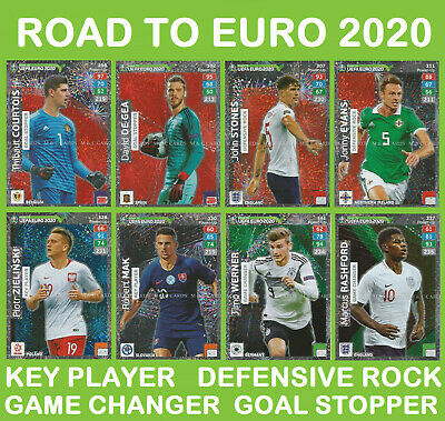 Adrenalyn XL UEFA Euro 2020 Road to # 298 thibaut courtois bélgica goal Stopper
