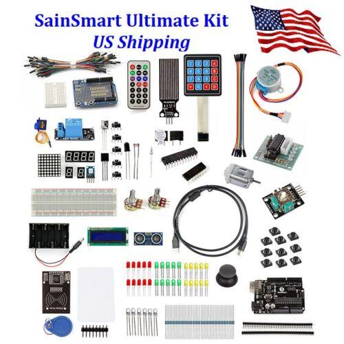 SainSmart New RFID Master Kit with Motor Relay LCD Servo for Arduino US Shipping