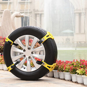 Pro-Snow-Ice-Mud-Anti-Skid-Grip-Emergency-Car-Truck-Wheel-Tire-Chain-Traction