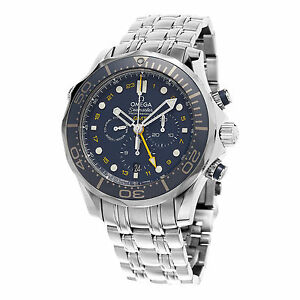 8f707ed84d2 Omega Seamaster Diver 300m Co-Axial GMT Chronograph 212.30.44.52.03.001  Wrist Watch for Men