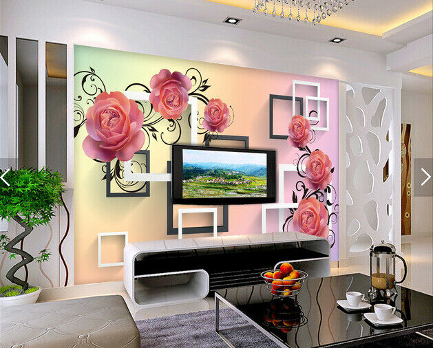 3D Blumenmuster Natur 62 Tapete Tapete Tapete Tapeten Mauer Foto Familie Tapete Wandgemälde DE 5c566f