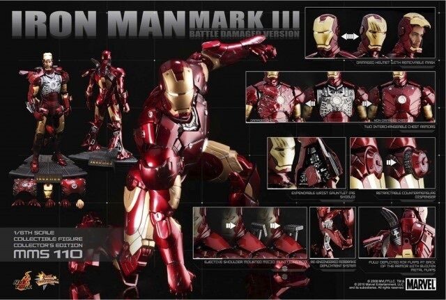 Hot toys mark iii battle damaged