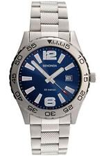 Sekonda 3253 Gents Quartz Analogue Date Stainless Steel 50m Watch RRP £49.99