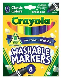Crayola-Broad-Line-Washable-Markers-Classic-Colours-8-pack