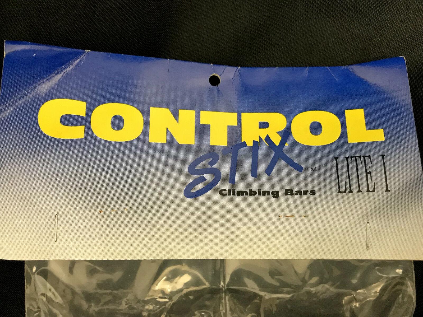 Vintage oldschool oldschool oldschool NOS Controltech bar ends control STIX Morado orig.packed LITE1 c70cbe