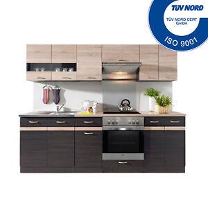 Küchenzeile mit elektrogeräten  Küchenzeile mit Elektrogeräten Spülbecken Einbauküche Küche E ...