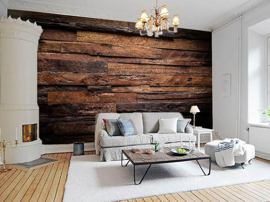 3D Wood Planks 764 Wall Paper Wall Print Decal Wall Deco Wall Indoor Murals