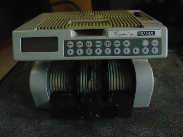 Brandt Bill Counter Model 8641 Currency