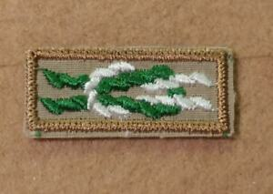 BSA SCOUTERS KEY AWARD SQUARE KNOT PATCH MINT REAL SINCE 1910 BACK