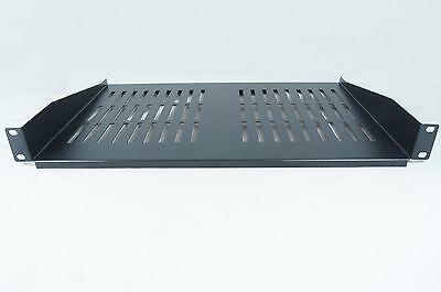 2019 Ultimo Disegno Ripiano Profondo 1u 300mm Nero Per 19 Pollici Rack Ripiano A Sbalzo Modem Rackmount- Domanda Che Supera L'Offerta
