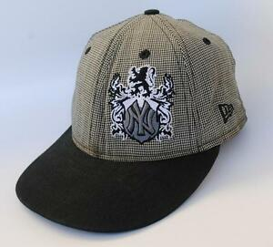 9ebbb0c5e7506 NY NEW YORK YANKEES MLB Baseball Cap Hat Size 7 56cm Fitted NEW ERA ...