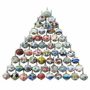 Assorted-Multicolor-Ceramic-Knobs-Handmade-Handpainted-Kitchen-Cabinet-Knobs