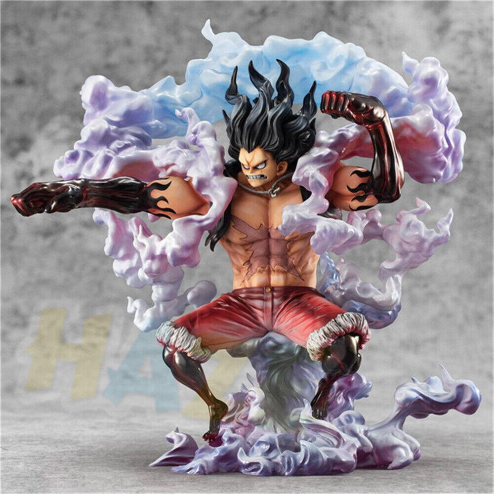 One Piece Affe D Ruffy Gear 4-Snake Man Abbildung Figure Model Spielzeug