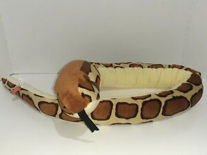 Wild Republic Snake Boa Anaconda Plush Stuffed Animal Toy Realistic 48 Inch