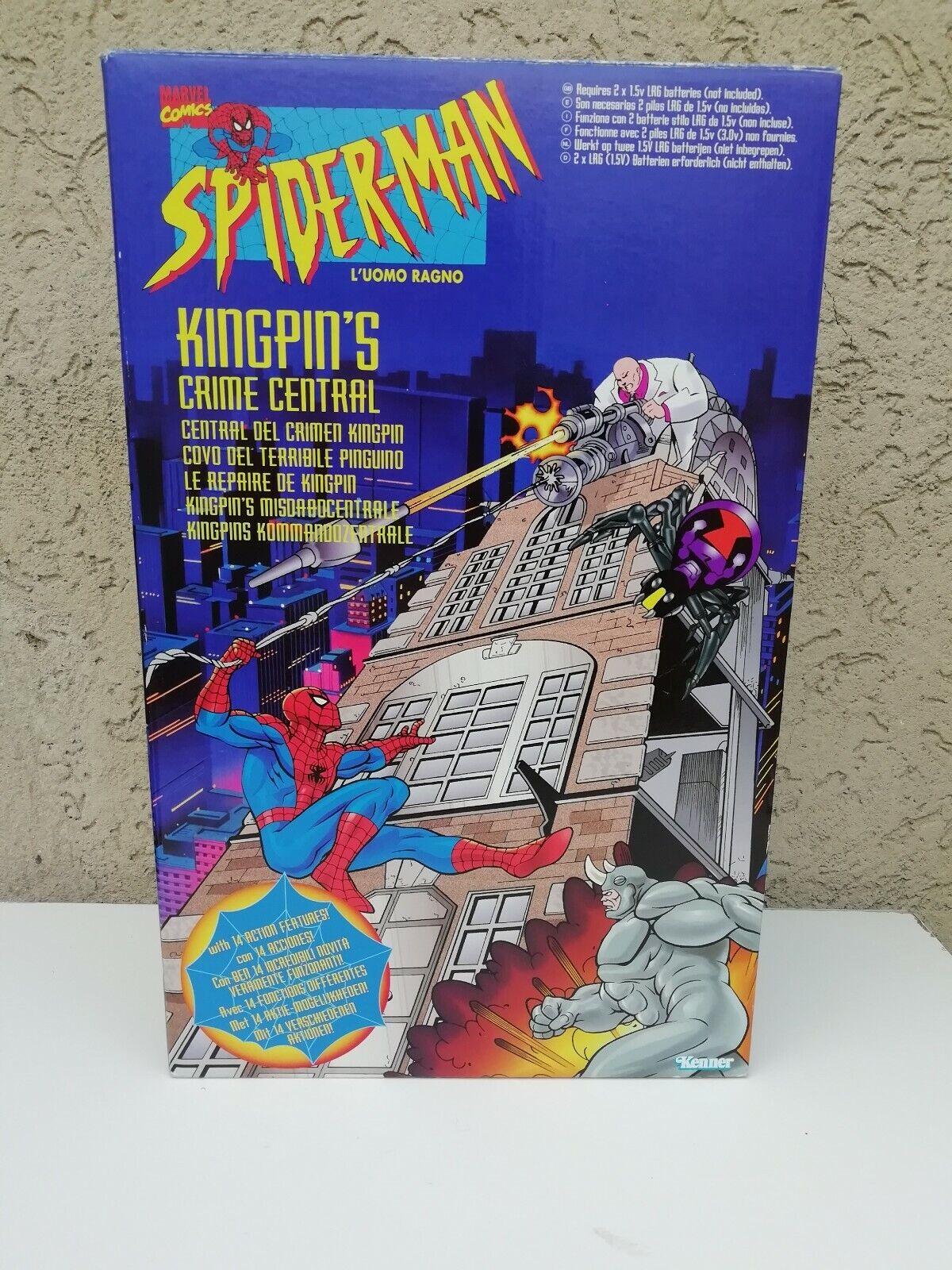 SPIDER-MAN KINGPIN'S CRIME CENTRAL KENNER