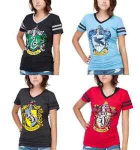Harry-Potter-House-Crest-tshirts-S-2XL-ravenclaw-hufflepuff-gryffindor-slytherin