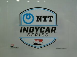 NTT-IndyCar-Series-Collector-Decal-IRL-Official-Souvenir-Product