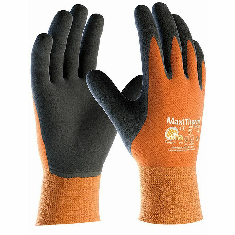 Maxitherm 30-201 Temperatura Palmo Rivestito Termale Freddo Temperatura 30-201 da Lavoro Guanti - 20fb85