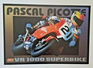 Vintage Poster 2000 Scott Russell Harley Davidson VR1000 Superbike Picotte