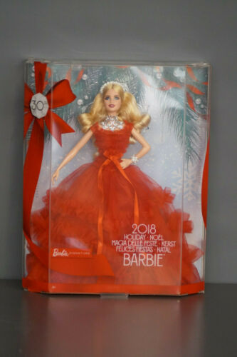 MATTEL Barbie Signature Happy Holiday 2018 Hispanic 30th Anniversary NUOVO /& OVP