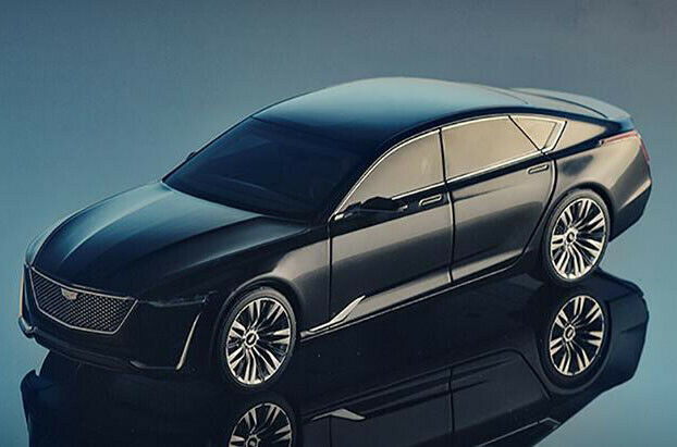 1 18 Dealer Edition Cadillac ESCALA Concept Car model