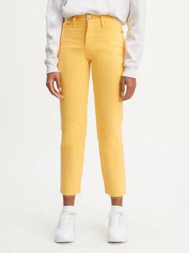 Tagliati Giallo Jeans Fit Nuovo Pinocchietto Wedgie 26 28 Dritto Levi's Donna X 1cZfqW6FfC