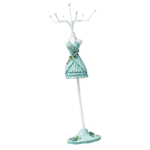Mannequin Dress Necklace Earrings Bracelet Organizer Jewelry Display Show