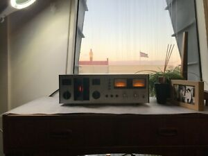 TEAC-Cassette-Deck-A-400-vintage-1970s-tape-player