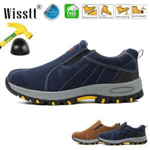 Men Indestructible Safety Shoes Steel