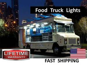 Food Truck and Concession Trailer LED Lighting - any COLOR selectable AC or DC