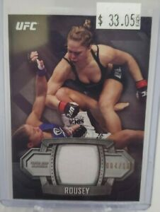 2014 Topps UFC Knockout Relics #KR-RR Ronda Rousey