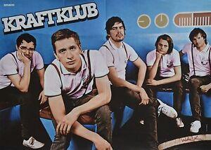 Kraftklub a3 poster ca 42 x 28 cm clippings fan for Fenster kraftklub