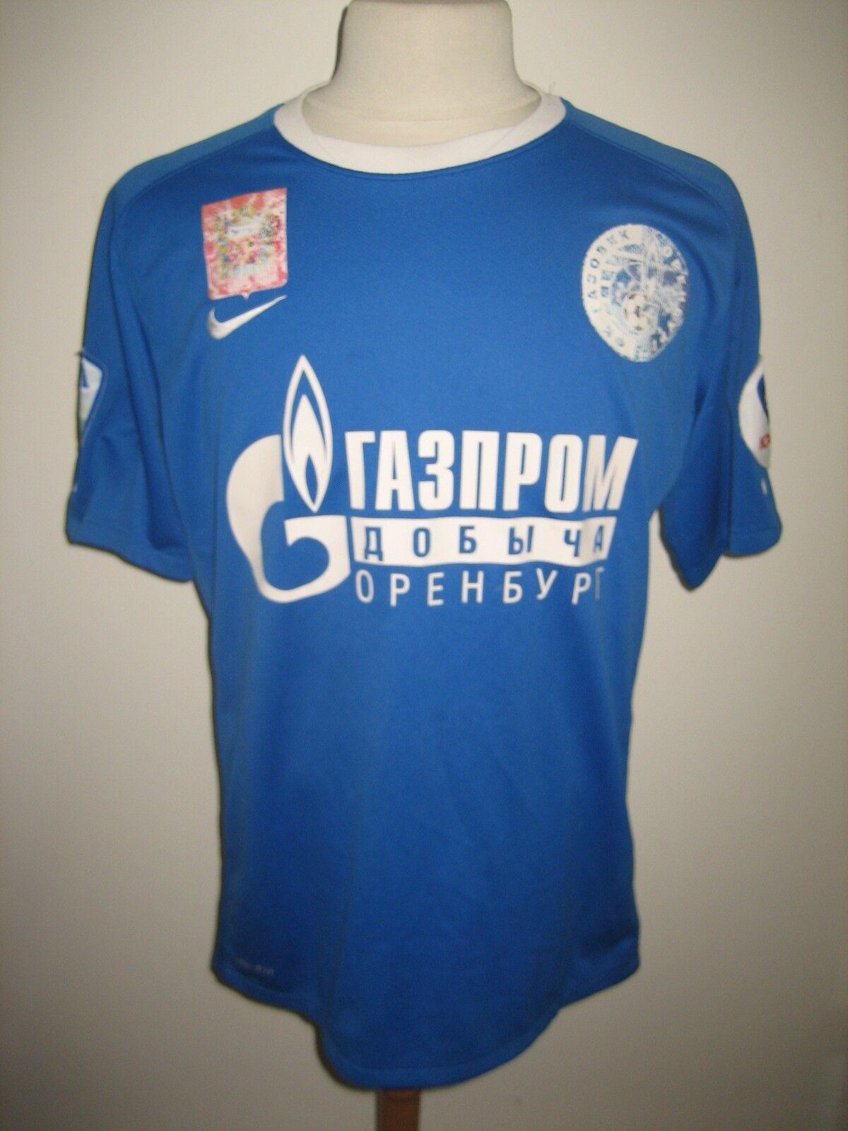 Gazovik Orenburg MATCH WORN away Russia football shirt soccer jersey Talla L