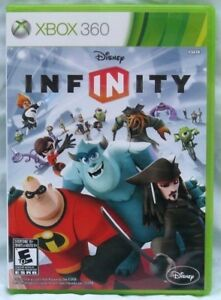 Microsoft-Xbox-360-Disney-Infinity-1-0-Game-Disc-Cover-Art-and-Case