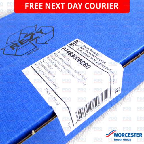 Worcester greenstar pcb carte de circuit imprimé 87483008280-authentique /& neuf