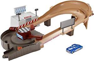 Mattel-Disney-Pixar-Cars-3-Thomasville-Rennstrecke-Trackset-Kinder-Spielbahn-NEU