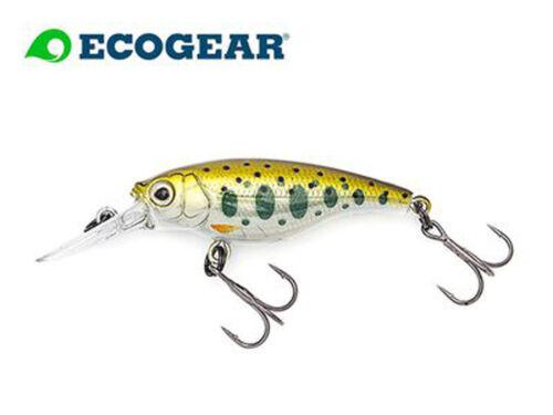 ECOGEAR SX 48 F Baby Trout Twitchbait Japanwobbler Barsch Forelle Hadrbait Crank