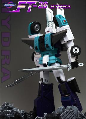 NewTransformers FansToys Head warrior FT-28 Hydra Six-faced beast Ninja staf