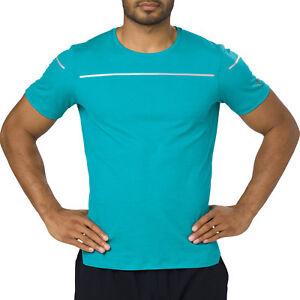 Asics-Performance-Lite-Show-Top-herren-kurzarmshirt-T-Shirt-Sport-Shirt-Running