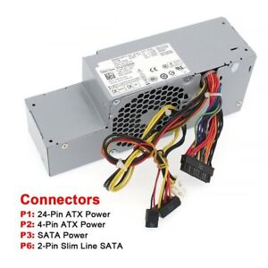 Details about NEW 235W Dell Optiplex 760 780 960 980 Power Supply PW116  R224M H235P-00