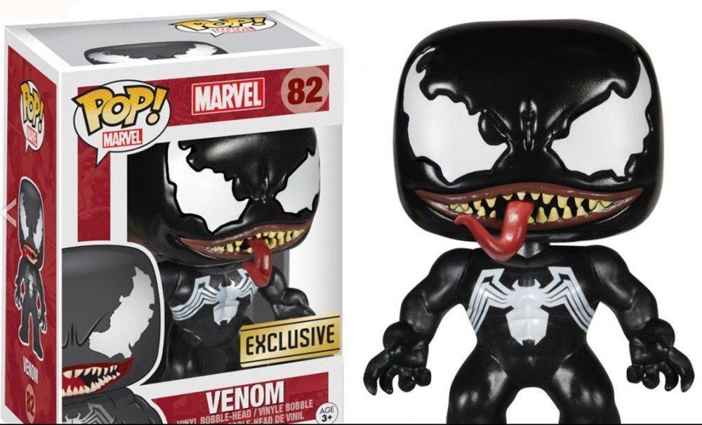 Spiderman - Venom Pop Vinyl Bobblehead Figure