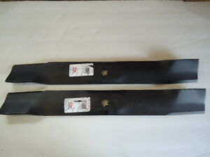 "2 Hi-lift Mulching Blades Fits John Deere 42/"" AM137327 AM141034 M154061 R12380"