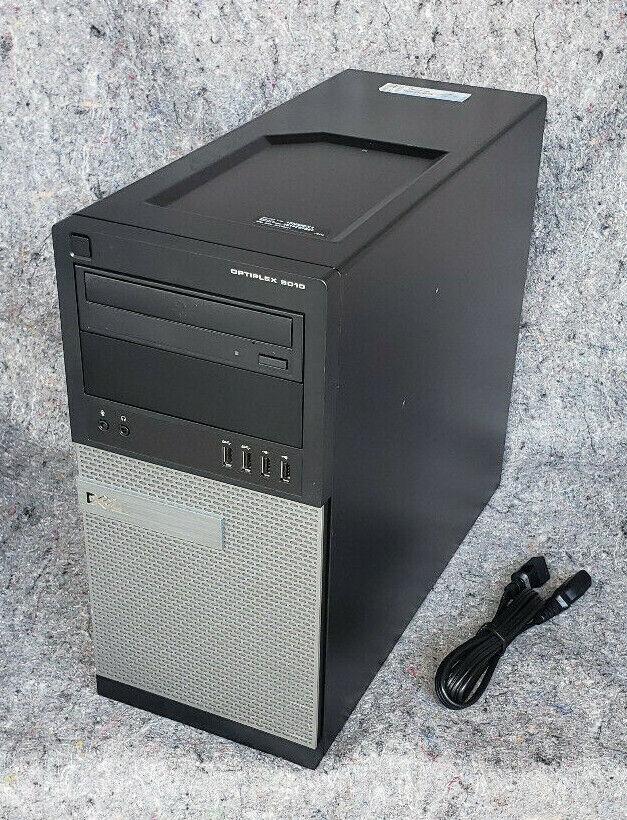 Dell OptiPlex 9010 MT 1TB HDD 8GB RAM Core i7 3770 3.4GHz Win10 Desktop PC ED27. Buy it now for 195.00