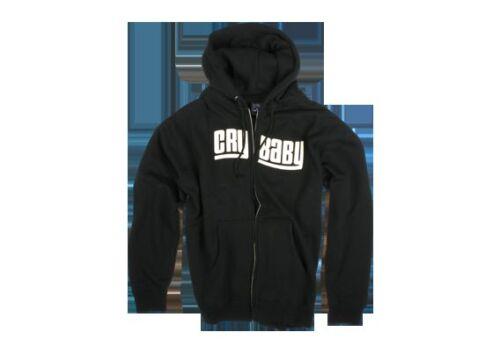 Dunlop Crybaby Wah Wah Hoodie Sweatshirt Black Large NEW!!