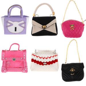 Stylish Handbag Purse For Blythe Doll 1//6th BJD Accessories Kids Pretend Toy
