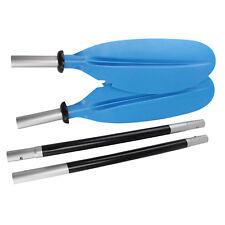 ISURE MARINE  220cm Aluminum Adjustable Kayak Canoe Paddle Split Shaft