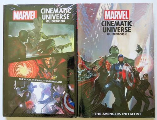 Marvel Cinematic Universe Guidebook Lot of 2 Hardcover Graphic Novel Comic Book