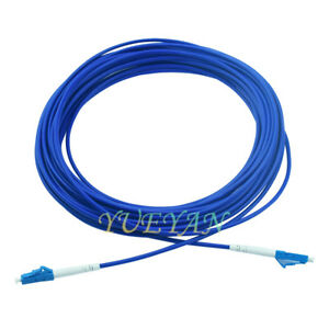 5M-Armored-Cable-Fiber-Patch-Cord-LC-to-LC-SM-9-125-3-0mm-Single-Core